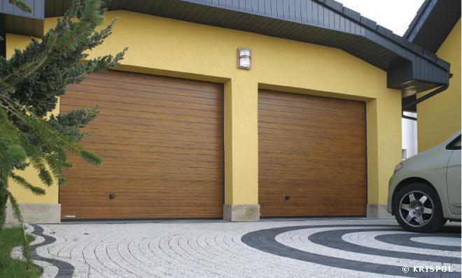 Bramy Garażowe Lublin Segmentowe Rolowane Krispol